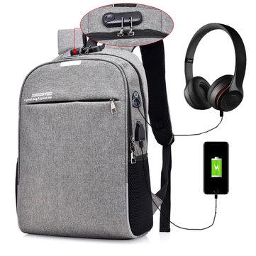 20% off for IPRee® 18L Backpack 16inch Laptop Bag Anti-theft Shoulder Bag