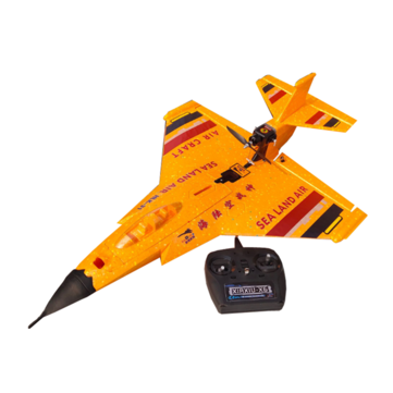 HLK-31 630mm Wingspan EPP Sea-Land-Air 3 in 1 2.4Ghz 6CH Auto-return 3D Stunt RC Airplane RC Boat RC Car RTF Yellow/Black
