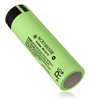1pcs NCR18650B 3400mAH 3.7 V Unprotected Rechargeable li-ion Battery