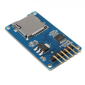 5Pcs Micro SD TF Card Memory Shield Module SPI Micro SD Adapter Geekcreit for Arduino - products that work with official Arduino boards