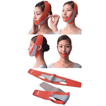 Nylon Face Slimming Belt Face Thining Mask Bandage