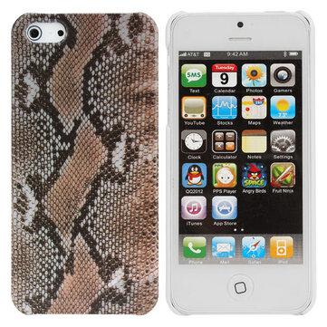 Mote Leopard Korn Mønster TPU Veske Cover Skin For iPhone 5