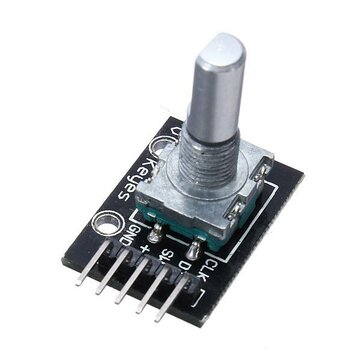 KY-040 Rotary Decoder Encoder Module AVR PIC Geekcreit for Arduino - products that work with official Arduino boards