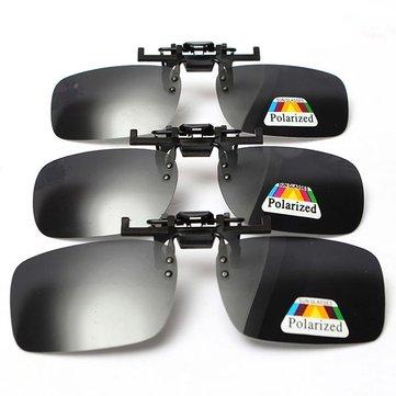 Polarized  Clip Sunglasses Glasses Lens