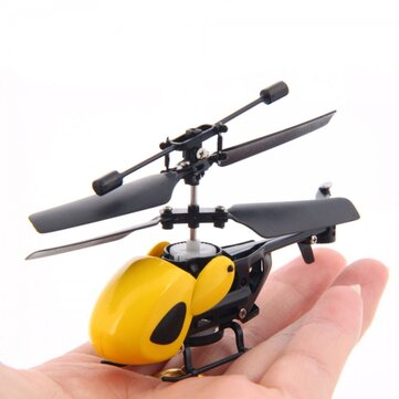 QS QS5010 3.5CH Super Mini Infrared RC Helicopter Dengan Mode Gyro 2