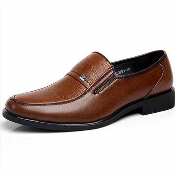 Giày nam màu nâu Oxford Giày da công sở