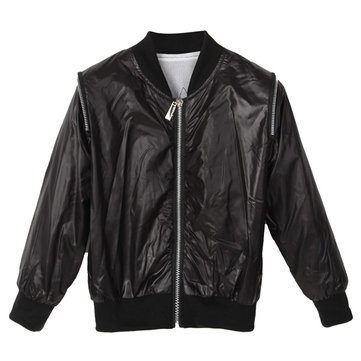 Baby Boys Kids Faux Leather Zip Up Motorcycle Jackets Coats Outwear