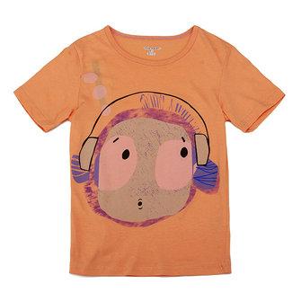 2015 न्यू लिटिल मेवेन लवली हेडसेट बॉय बेबी चिल्ड्रेन बॉय कॉटन शॉर्ट आस्तीन टी-शर्ट