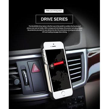 Original KLD Drive Serie Beskyttelsestelefon Deksel Bilholder GPS Telefon Deksel For iPhone 5S 5