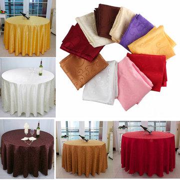 Khăn trải bàn tròn thấm 160cm cho nhà hàng khách sạn Trang trí tiệc cưới