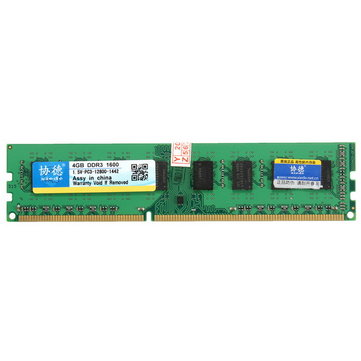 Xiede 4GB DDR3 1600Mhz PC3-12800 DIMM 240Pin For AMD Chipset...
