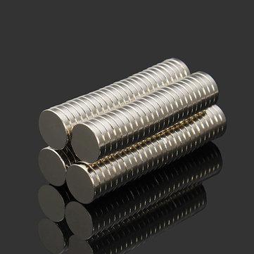 Nam châm Effetool 100,999945 NdFeB Nam châm siêu mạnh 10 mm x 2 mm