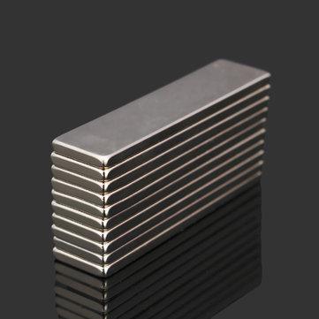 10 cái N52 40x10x2mm Nam châm khối siêu mạnh