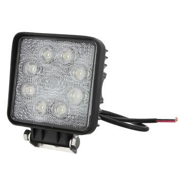 24W 8LED Spot work Lamp Light Off Roads For Trailer Off Road Boat