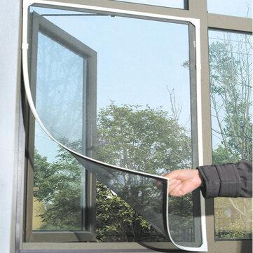 Honana WX-318 White Insect Mosquito Door Window Mesh Screen Sticky Nylon Tape Net